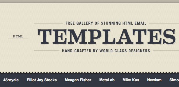 100 completly free html email templates inbox junky for Email blast template free