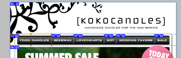 koko candles sliced header