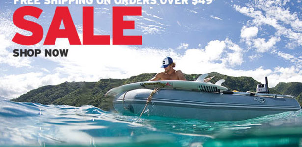 Quicksilver Summer Sale Email - Thumbnail