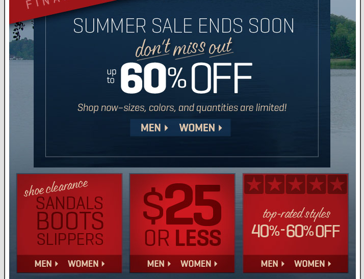 Woolrich Email Marketing Design